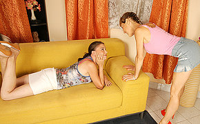 Hot old plus young lesbians get wicked plus wild