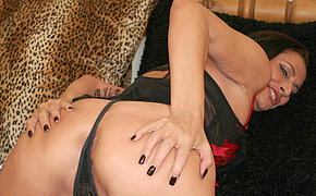 Hot and horny housewife playing with herself