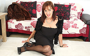 Horny British housewife taking it to transmitted to result from step