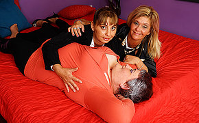 Three horny mature ladies descending full butch