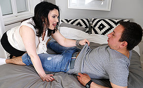 Hairy housewife fucking her ass retire from