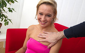 Horny mom screwing and sucking nigh POV style