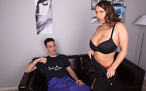 Obese breasted German MILF fucking and sucking hard