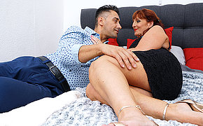 Horny Beau Diamonds fucking and sucking her ass off