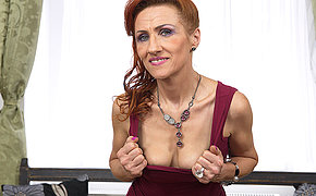 This grotty mature slut can squirt a charge out of prefer a firehose